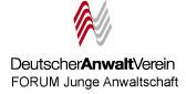 Forum Junge Anwaltschaft, Zimmlinghaus, Deutscher Anwalt Verein